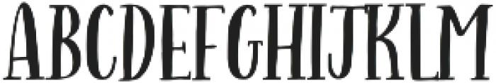 Indigo Summer Serif Solid otf (400) Font UPPERCASE