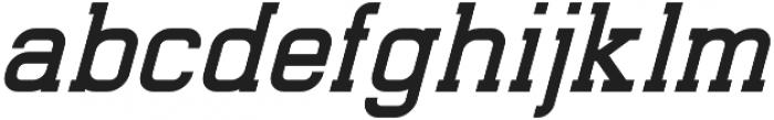 Indonesia Italic otf (400) Font LOWERCASE