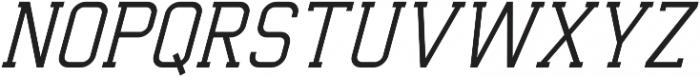 Indonesia Light Italic otf (300) Font UPPERCASE