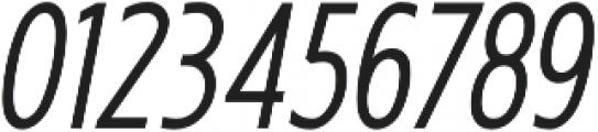 Industrial Sans Bold Oblique otf (700) Font OTHER CHARS