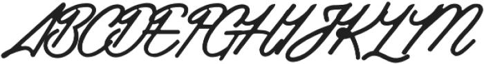 Industries - Script otf (400) Font UPPERCASE