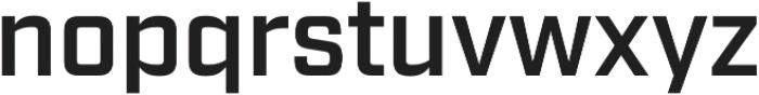 Industry Demi otf (400) Font LOWERCASE