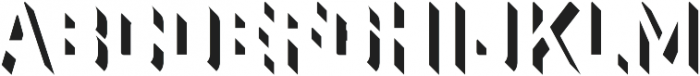 Industry Inc 3D Right otf (400) Font LOWERCASE