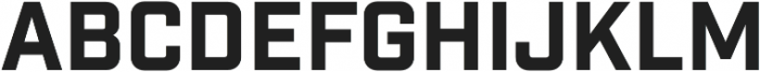 Industry Inc Base otf (400) Font LOWERCASE