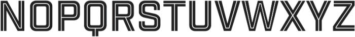Industry Inc Cutline otf (400) Font LOWERCASE