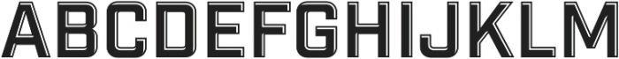 Industry Inc Detail otf (400) Font LOWERCASE