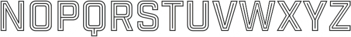 Industry Inc In-N-Out otf (400) Font UPPERCASE