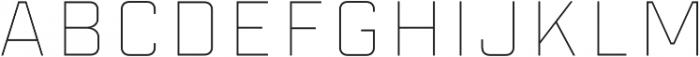Industry Inc Inline Stroke otf (400) Font LOWERCASE