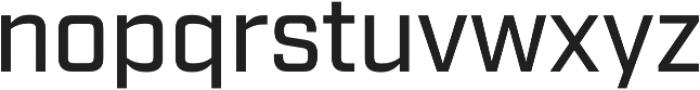 Industry Medium otf (500) Font LOWERCASE