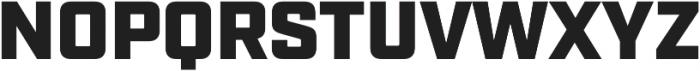 Industry Ultra otf (900) Font UPPERCASE