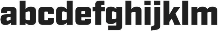 Industry Ultra otf (900) Font LOWERCASE