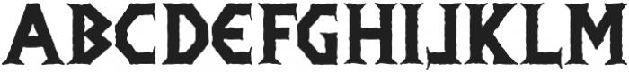 Infamous otf (400) Font UPPERCASE