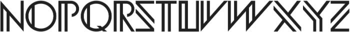 Infinity Geometric ttf (400) Font UPPERCASE