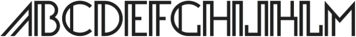 Infinity Geometric ttf (400) Font LOWERCASE