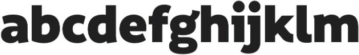 Informative Black otf (900) Font LOWERCASE
