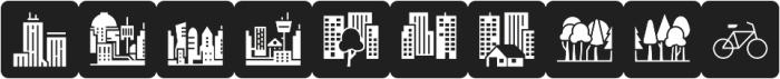 Informative City Black otf (900) Font OTHER CHARS