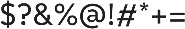 Informative Medium otf (500) Font OTHER CHARS