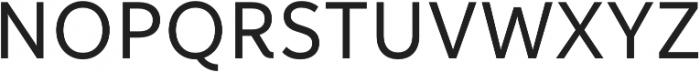 Informative Medium otf (500) Font UPPERCASE