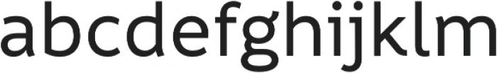 Informative Medium otf (500) Font LOWERCASE