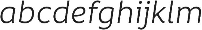 Informative Regular It otf (400) Font LOWERCASE