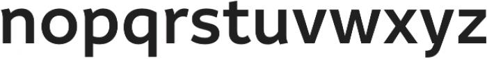 Informative SemiBold otf (600) Font LOWERCASE