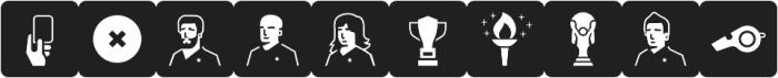 Informative Sports Black otf (900) Font OTHER CHARS