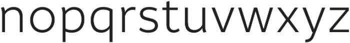 Informative otf (400) Font LOWERCASE