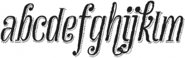 Infusion Mix otf (400) Font LOWERCASE