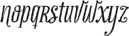 Infusion Roman otf (400) Font LOWERCASE