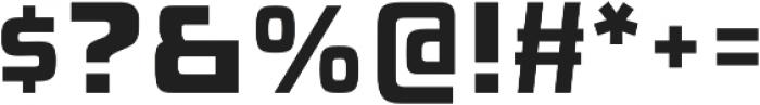 Injekuta Bold otf (700) Font OTHER CHARS