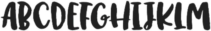 Ink Bandits Script otf (400) Font UPPERCASE