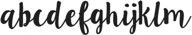 Ink Blossoms otf (400) Font LOWERCASE
