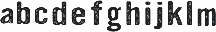 Ink Collective otf (400) Font LOWERCASE
