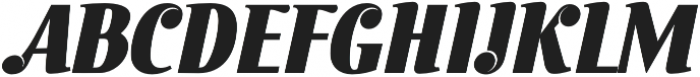 Inkredible Script otf (400) Font UPPERCASE