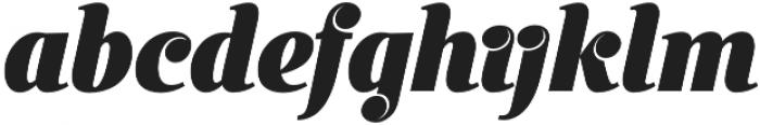 Inkredible Script otf (400) Font LOWERCASE