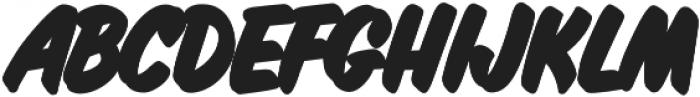 Inkston Casual Black otf (900) Font UPPERCASE