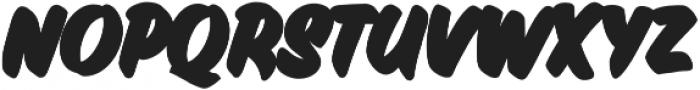 Inkston Casual Black otf (900) Font LOWERCASE