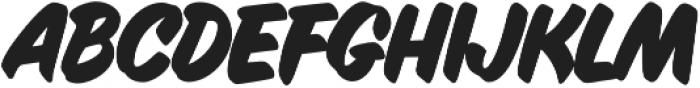 Inkston Casual Bold otf (700) Font LOWERCASE
