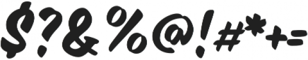 Inkston Casual Regular otf (400) Font OTHER CHARS