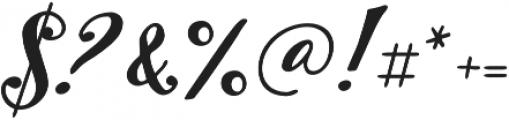 Inkston Script otf (400) Font OTHER CHARS