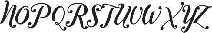 Inkston Script otf (400) Font UPPERCASE