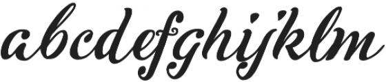 Inkston Script otf (400) Font LOWERCASE