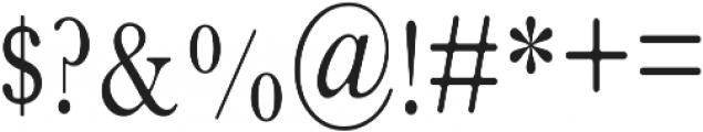 Inner Peach Cap otf (400) Font OTHER CHARS