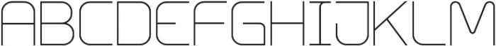 Innova Thin otf (100) Font LOWERCASE