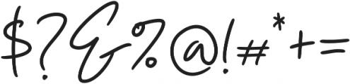 Insatiable Bold otf (700) Font OTHER CHARS