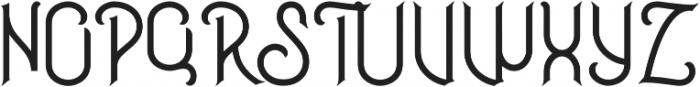 Inside otf (400) Font UPPERCASE