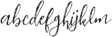 Insightly otf (400) Font LOWERCASE