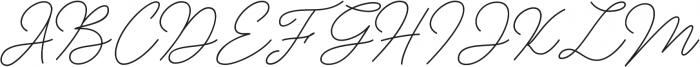 Insta Story Signature otf (400) Font UPPERCASE