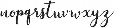 Instyle Regular otf (400) Font LOWERCASE
