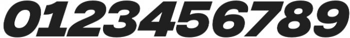Integral CF Bold Oblique otf (700) Font OTHER CHARS